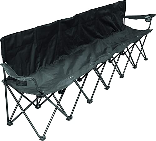 Creative Outdoor 6-Person Folding Bench Seat Chair