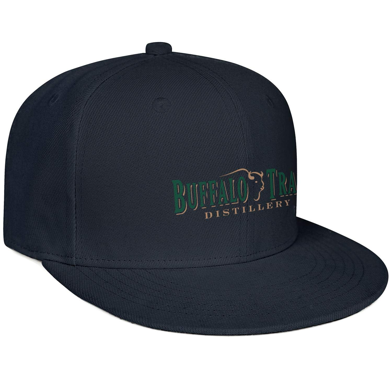 Cap Retro Hiking Caps Hat Mens Woman Buffalo-Trace-Whiskey-Logo-Symbol