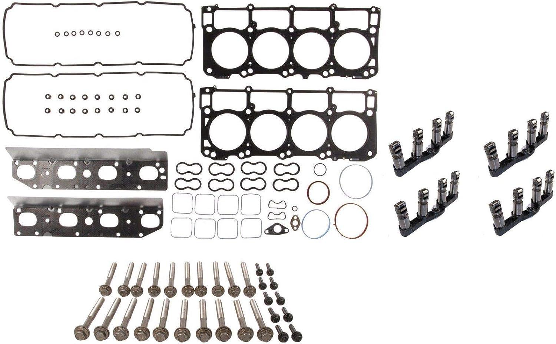 Head Gasket Set+Bolts For 09-15 Chrysler Dodge Jeep Ram 5.7L HEMI OHV MLS VIN T