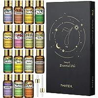 PHATOIL Juego de aceites esenciales – Top 15 aceites esenciales, aceite esencial de aromaterapia para difusor…