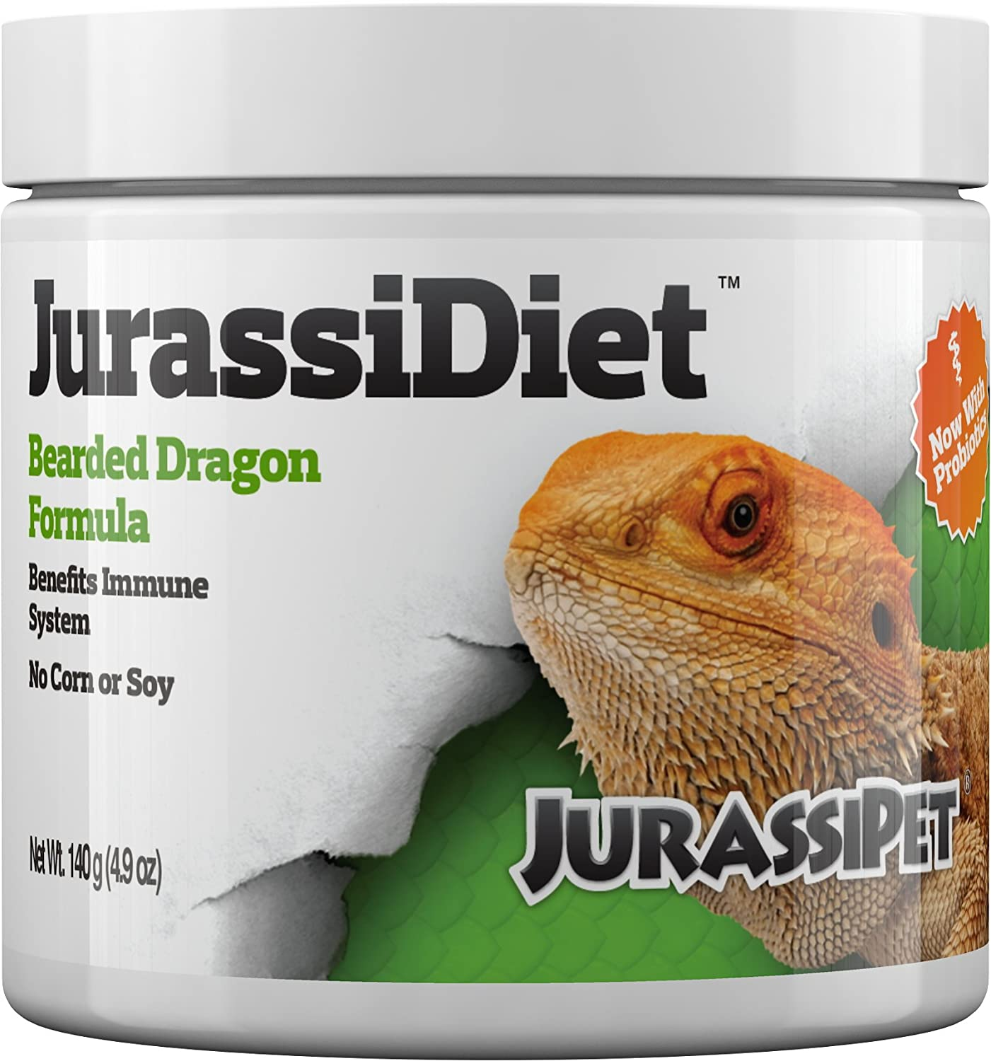 JurassiDiet - Bearded Dragon, 140 g / 4.9 oz.