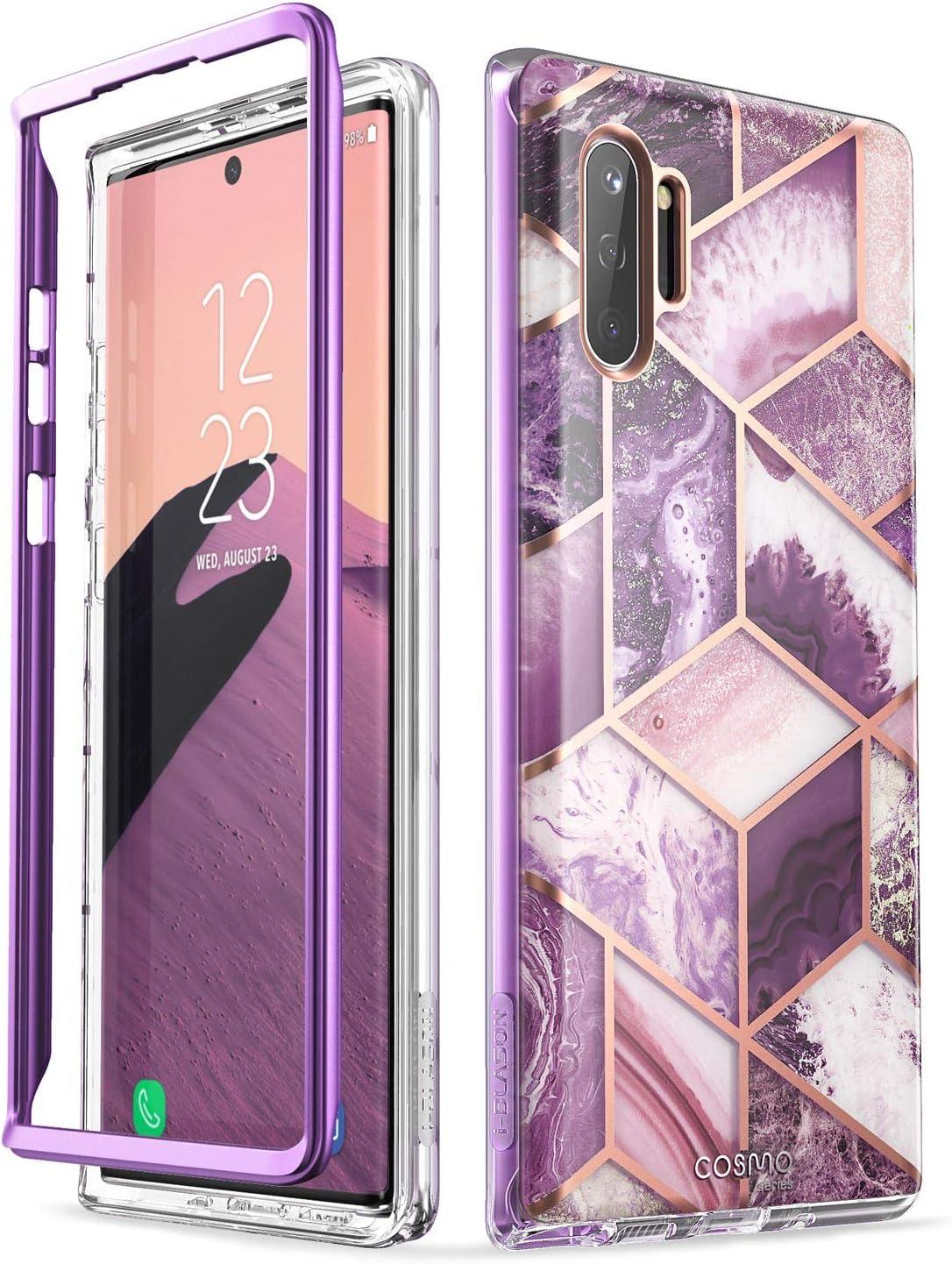 i-Blason Cosmo Series Case for Galaxy Note 10 Plus/Note 10 Plus 5G 2019 Release, Purple