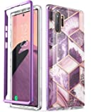 i-Blason Cosmo Series Case for Galaxy Note 10 Plus/Note 10 Plus 5G 2019 Release, Slim Stylish Protective Bumper Case Without Built-in Screen Protector (Purple)