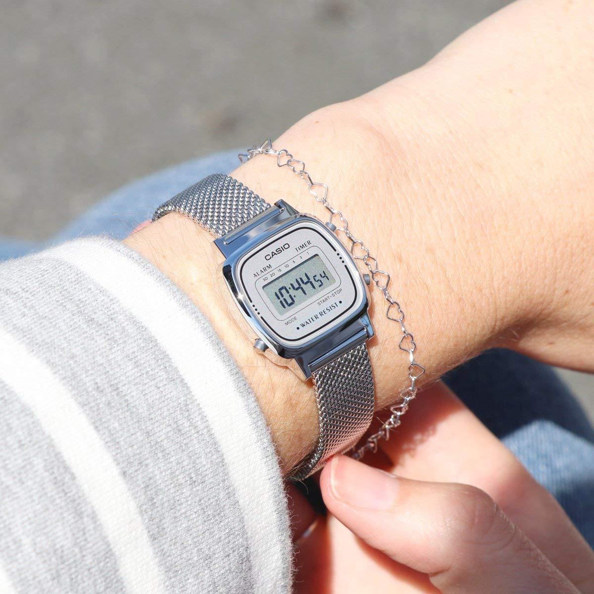 Casio Smart Watch Armbanduhr LA670WEM-7EF: Amazon.es: Relojes