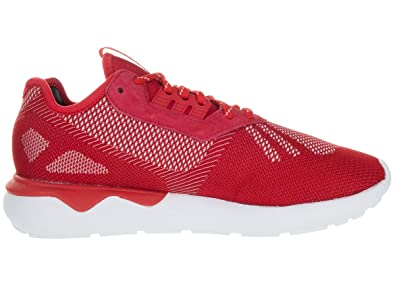 Adidas Tubular Weave Red