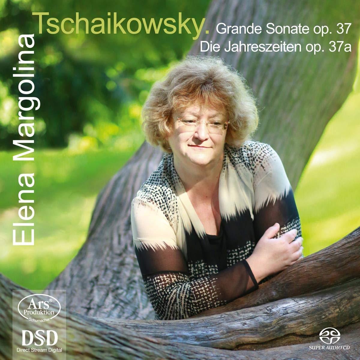SACD : ELENA MARGOLINA - Grande Sonate 37 /  Die Jahreszeiten 37 (Hybrid SACD, 2 Pack)