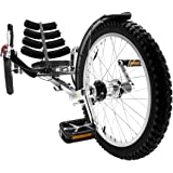 Mobo Shift 3-Wheel Recumbent Bicycle Trike. Worlds 1st Reversible Adult Tricycle Bike