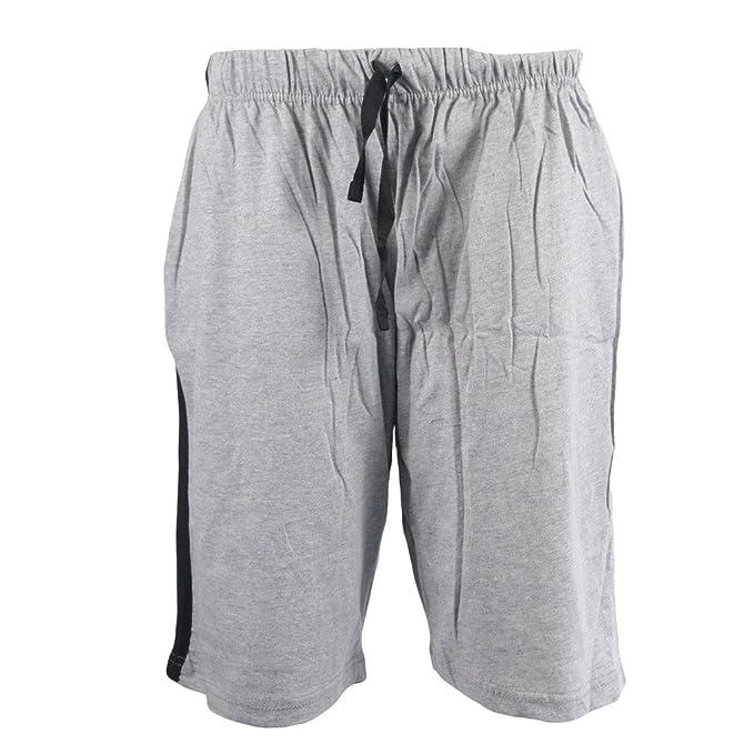 68e55c9bb7 IMTD para Hombre Mezcla de algodón Lounge Pijamas Cortos Vacaciones de Playa  Gimnasio Pantalón Corto De Deporte Pijama Pijama Hombre  Amazon.es  Ropa y  ...