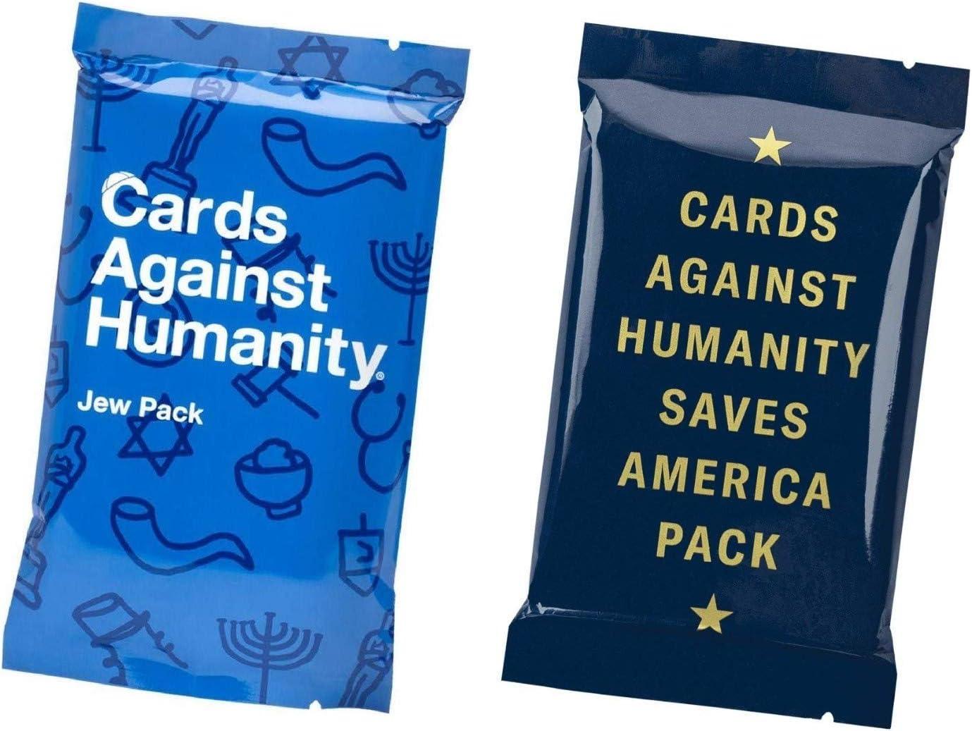Packs de Cards against Humanity Judío y Save America: Amazon.es ...
