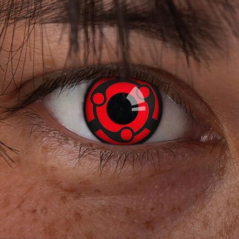 Couleur des lentilles de contact Uchiha Madara de aricona  Amazon.fr ... 632e76ce99b5