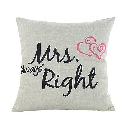 Amazon.com: Funda de almohada decorativa para el día de San ...