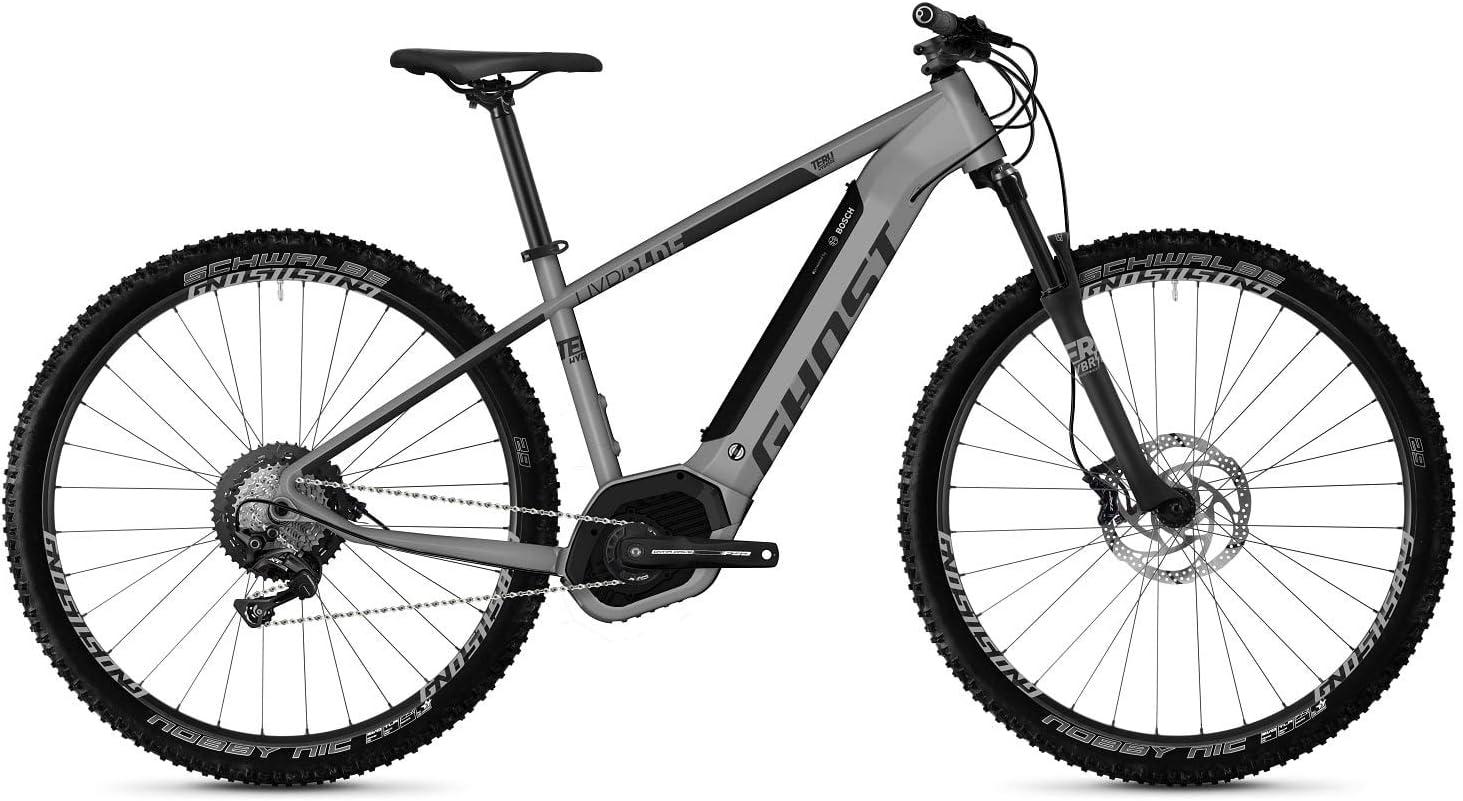 Ghost Hybrid Teru PT B5.9 AL U Bosch 2019 - Bicicleta eléctrica (46 cm), color gris y negro: Amazon.es: Deportes y aire libre