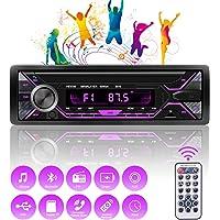 RIRGI Autoradio Bluetooth, Radio de Coche 4 x