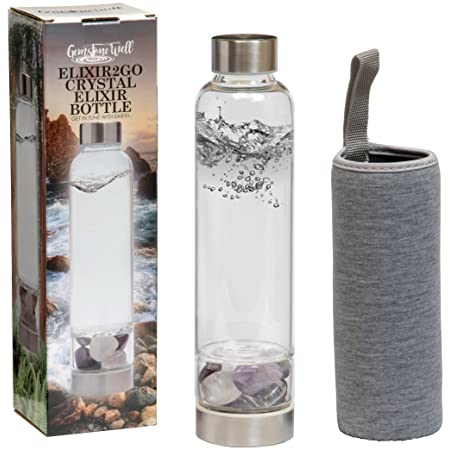 TOP Best Crystal Water Bottles: 2019 Reviews and Buying Guide