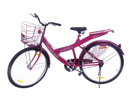 Leader Steel Women\'s Bicycle, 9 Inches (Pink, JFI KATRINA 20\