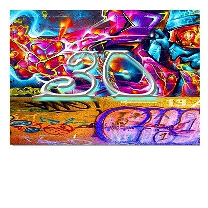 DigitalOase 30 tarjeta de felicitación Tarjeta de cumpleaños ...