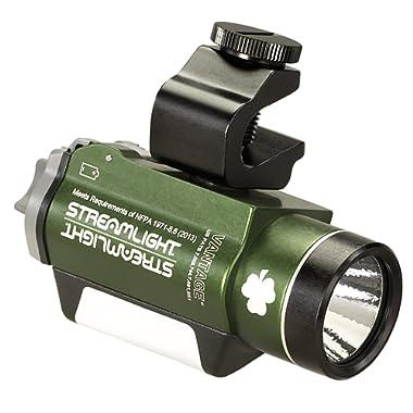 Streamlight 69189 Vantage LED Helmet Mounted Flashlight, Green