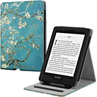 Fintie Custodia per Kindle Paperwhite (10a Generazione 2018 & All Paperwhite Generazione) - [Multi-angli] Slim Fit Folio Pieghevole Cover con Auto Sonno/Sveglia Funzione, Blossom