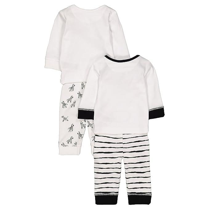 cbf6e76e4d1d2 Mothercare Baby Unisex Zebra 2 Pack PJ Pyjama Sets  Amazon.co.uk  Clothing