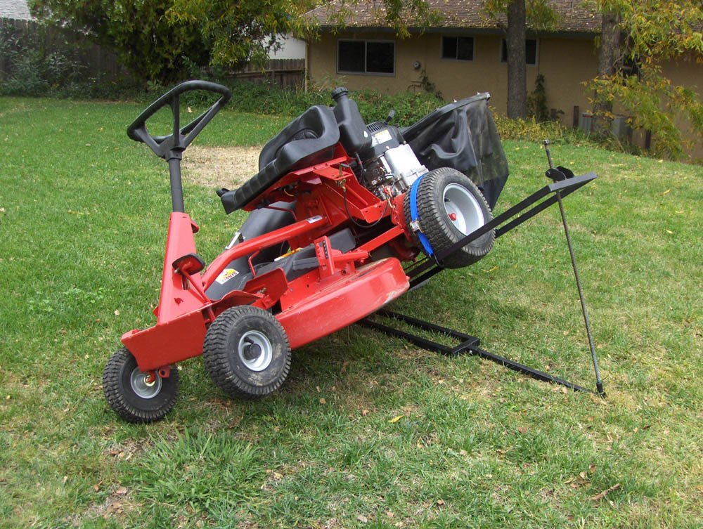 Komodo ATV TML Dual Purpose Lawn Tractor and Mower Lift by BR Tools (Image #4)