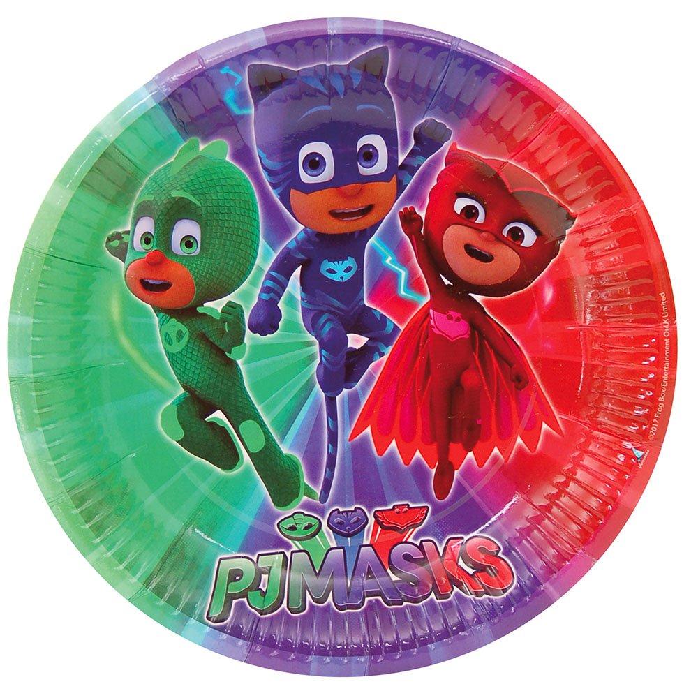 PJ Masks Platos para decoración de Fiestas (Verbetena 016001311): Amazon.es: Juguetes y juegos