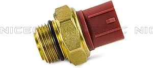 NICECNC M18 Radiator Fan Thermo 17680-33E00 Switch Comp for Volusia VL800Z SV1000 V-Strom (DL1000) Boulevard M50 (VZ800Z) C50 TL1000R/S VL800/C/T/B/L5/TL5 E03/28/33 GSX-R600Z/X/R1000Z R750/X