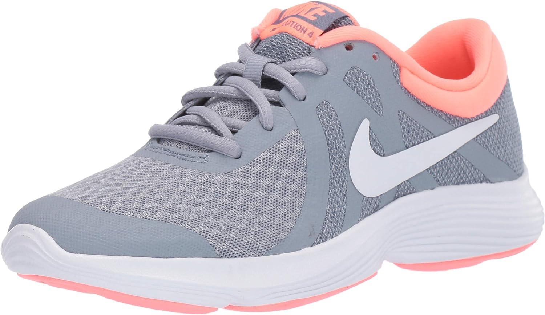 NIKE Revolution 4 (GS), Zapatillas de Atletismo para Mujer