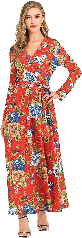 Women's Maxi Dress Bohemian...