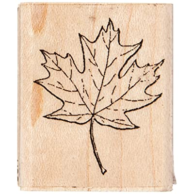 Stamps by Impression ST 0171 Maple Leaf Rubber Stamp: Arts, Crafts & Sewing