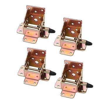 dDanke Lote de 4 abrazaderas plegables para silla de mesa ...