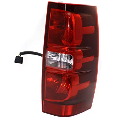 Tail Light Compatible with CHEVROLET SUBURBAN/TAHOE 2007-2014 RH Assembly: Automotive