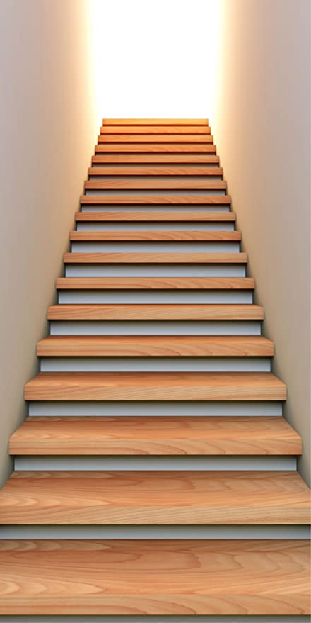 vinilos decorativos para subida de escalera Stickasticker Adhesivo Pegatina Trompe L Oeil Subida De