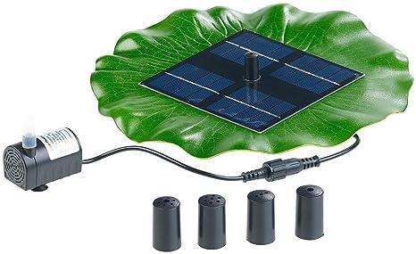 Royal Gardineer – Solar de Brunnen: Flotante Solar de Fuente para Estanque con Bomba y