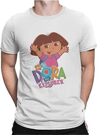 Dora Round Neck T-Shirt for Unisex