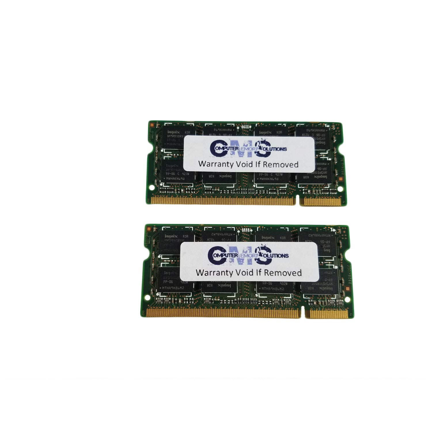 4Gb (2X2Gb) Memory Ram Compatible With Dell Latitude D830 Notebook Ddr2 By CMS A39