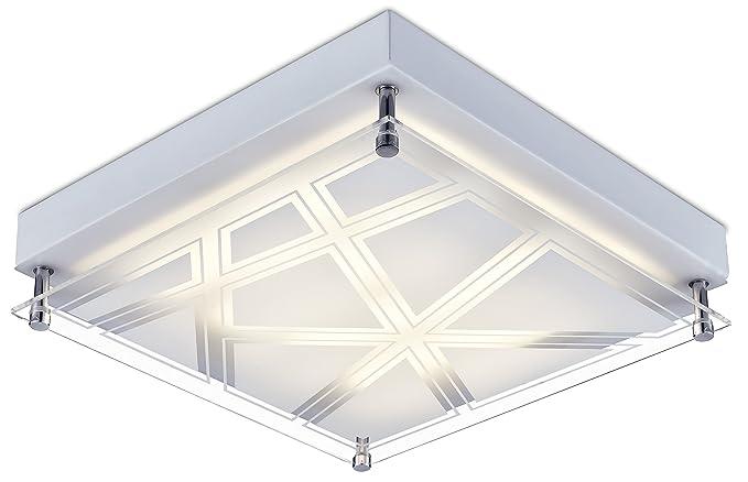 Led lampada da soffitto bianco caldo Ø cm lampadario da