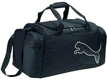 960e82e0c2ab Image Unavailable. Image not available for. Colour  Puma PowerCat 5.10  Medium Holdall Sports Kitbag Bag ...