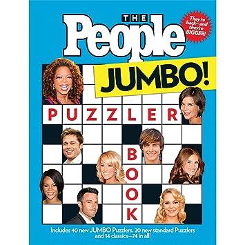 amazon com people magazine jumbo puzzler book trivia crossword