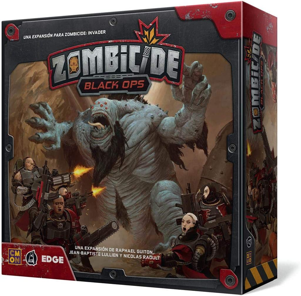 Edge Entertainment- Zombicide Invader - Black Ops - Español, Color (EECMZI02): Amazon.es: Juguetes y juegos