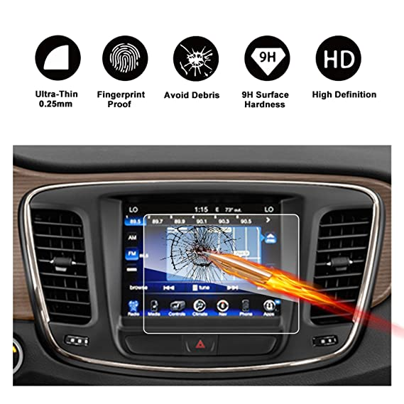 Amazon com: 2015 2016 2017 2018 Chrysler 200 Uconnect Uconnect Touch