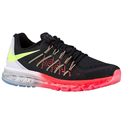 the best attitude b9b77 57187 Image Unavailable. Image not available for. Color  NIKE Men s Air Max 2015  Running Shoe (8.5, Black Volt White