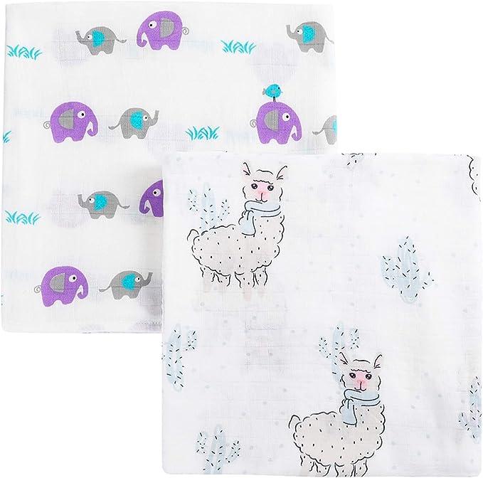 120x120cm couverture b/éb/é langes coton 100/% nouveau-n/é b/éb/é serviette de bain langes couvertures Multi Designs Fonctions chat multicolore