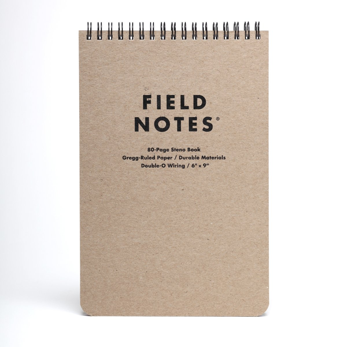 "Field Notes - Steno Pad, 80 pages - 6"" x"