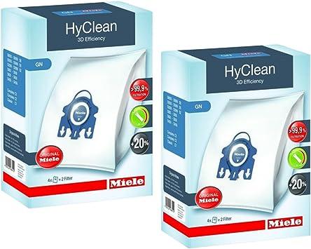 20 x GN Microfibre Sacs /& Filtres Pour Miele Complete C2 C3 Powerline Ecoline