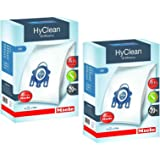 Miele GN Vacuum Hoover Bags - Complete C2 C3 Cat & Dog Powerline Silence Ecoline Genuine Original Hyclean + Filters (2 Box)