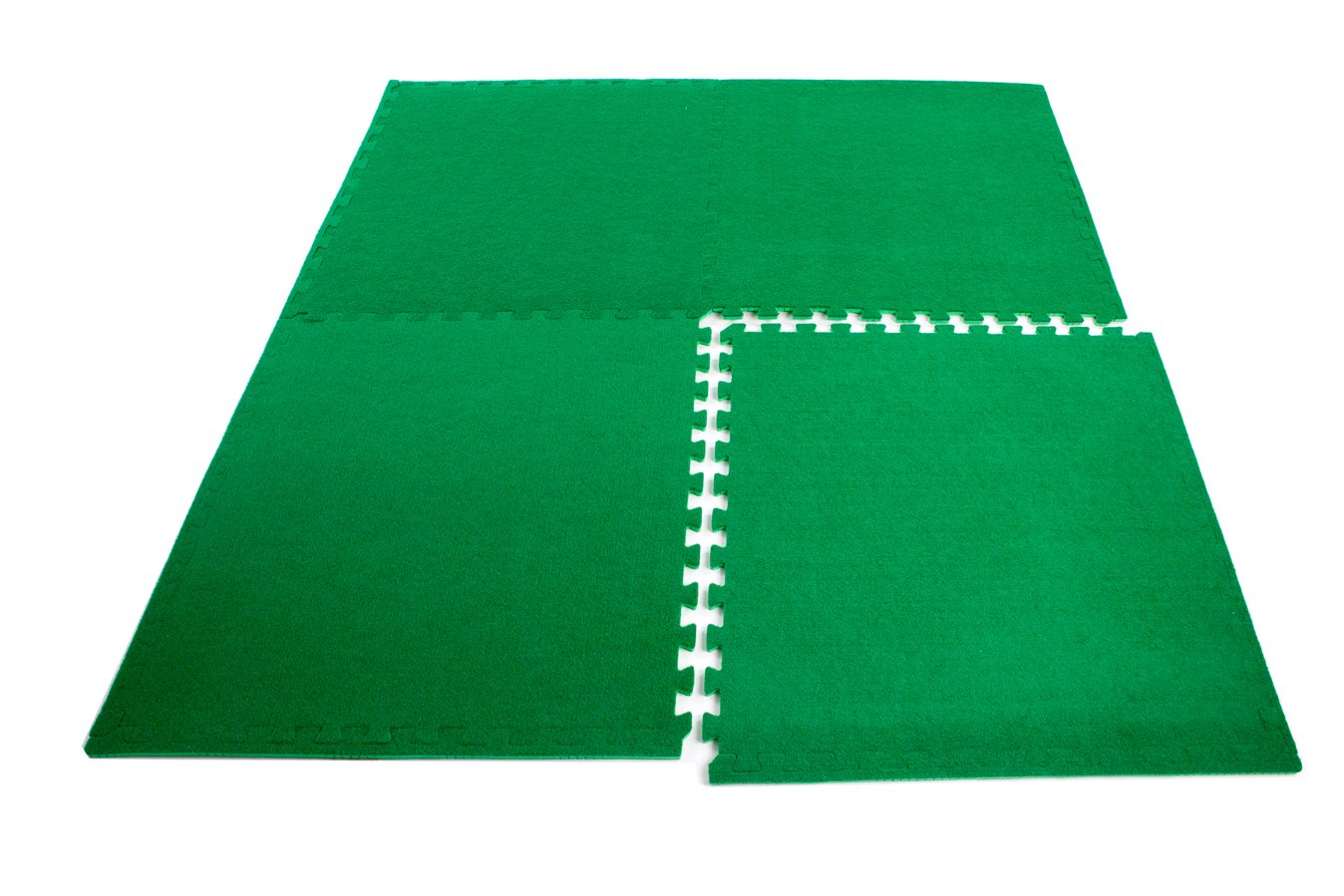 Astro Turf x 4 Mats Interlocking by Easimat 386