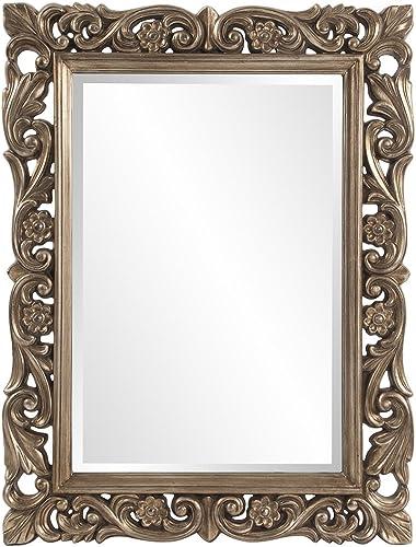 Howard Elliott Chateau Rectangular Hanging Wall Mirror