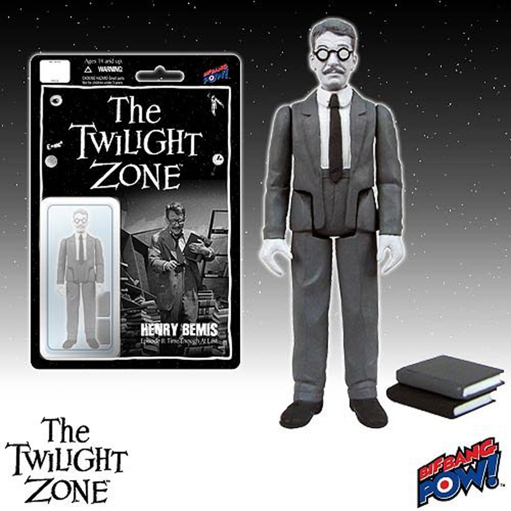 The Twilight Zone Henry Bemis 3 3/4-inch Action Figure