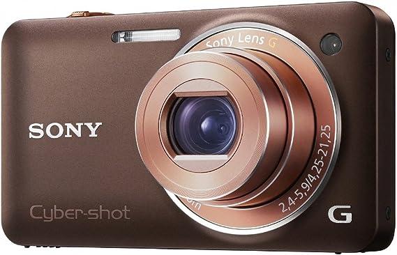 Sony Dsc Wx5t Digitalkamera 2 8 Zoll Braun Kamera