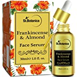 StBotanica Frankincense & Almond Face Serum - 30 ml - Anti Aging, Acne or Mature Skin